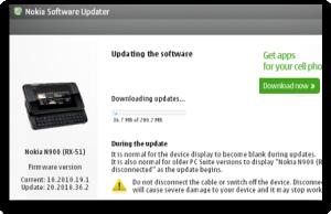 Nokia N900 update