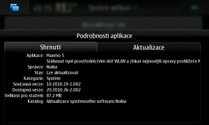 screenshot Maemo PR1.3