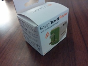Satechi Smart Travel Router Box